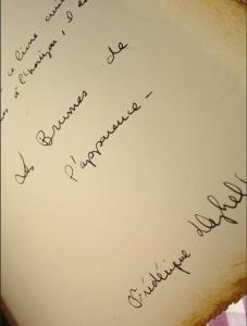 F. Deghelt Les Brumes de l'apparence manuscrit